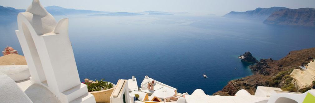 <h2>Opplev Hellas</h2> <p>Opplev den rike kulturen i land som Hellas. Besøk Santorini, Kreta, Rhodos eller andre spennende reisemål som kiler din sans for sol og kultur.</p>